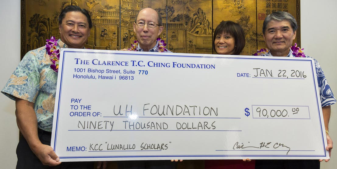 TC Ching Donation Banner